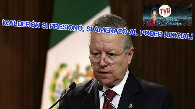 Opiniónenserio ¡EN VIVO!: ¡Calderón si presionó, si amenazó al poder judicial!