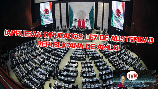 #OpiniónEnSerio ¡EN VIVO!: ¡Aprueban diputados ley de austeridad republicana de AMLO!